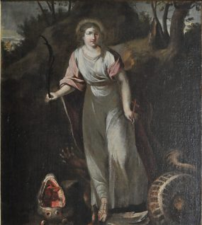 Sainte Marguerite et le dragon.