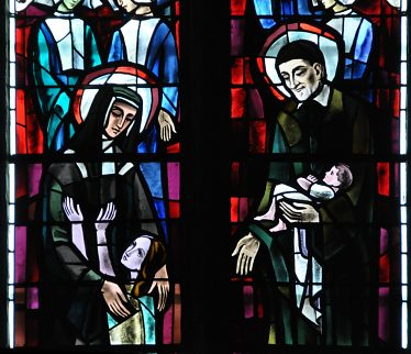 Louise de Marillac et saint Vincent de Paul