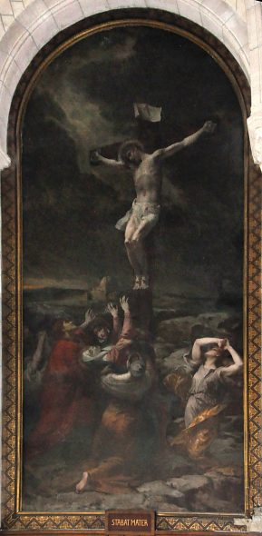 «La Crucifixion» de Jean-Louis Machard (1839-1900)