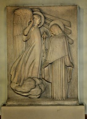 Bas-relief «L'Annonciation»