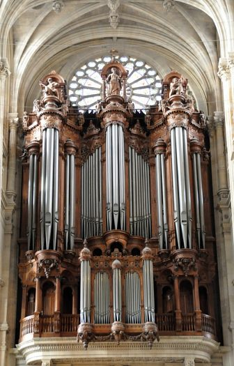 L'orgue de tribune de Saint-Eustache